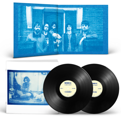 Fontaines D.C.: A Hero's Death: Deluxe Edition Gatefold Double Vinyl