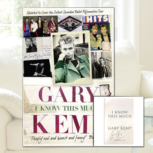 Gary Kemp: Gary Kemp - I Know This Much (Exclusive Hand Signed Edition)