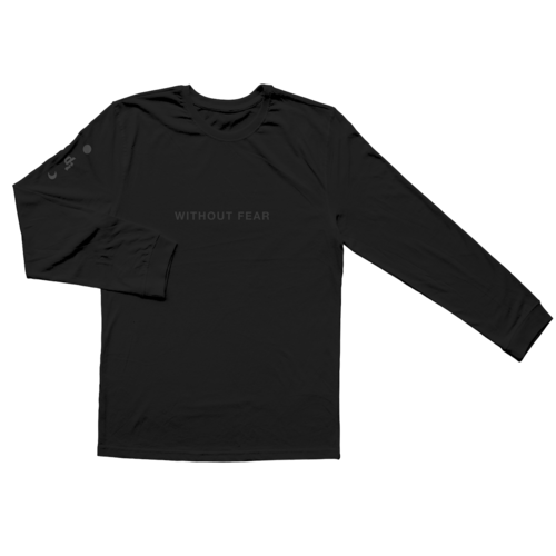 Dermot Kennedy: Wicklow Mountains Longsleeve: Black on Black Edition