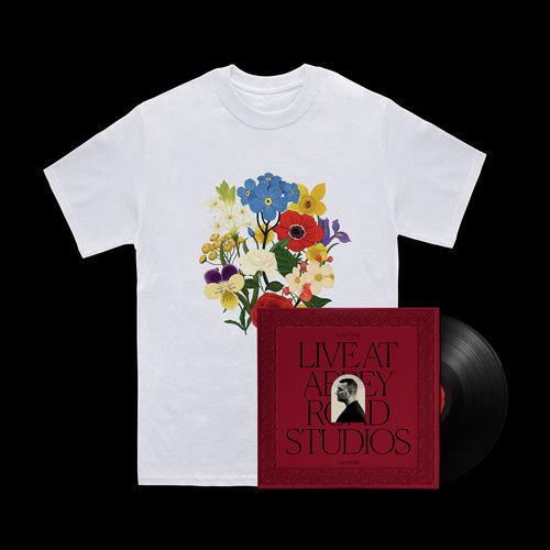 Sam Smith: Love Goes: Live At Abbey Road Studios Vinyl + White T-Shirt