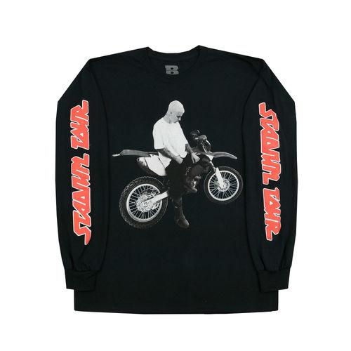 Justin Bieber: Dirt Bike Long Sleeve T-Shirt