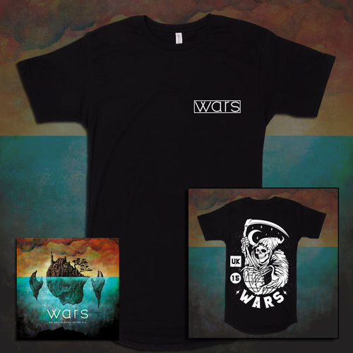 Wars: We Are Islands, After All CD & T-Shirt Bundle