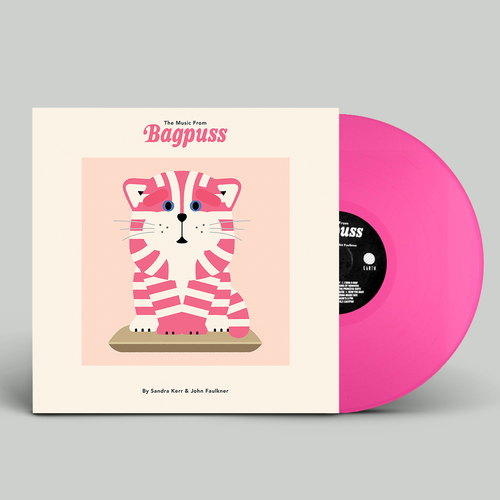 Sandra Kerr & John Faulkner: The Music from Bagpuss: Limited Edition Pink Vinyl Reissue