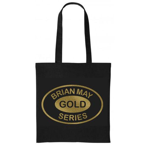 Brian May: Brian May Gold Series Metallic Gold Print