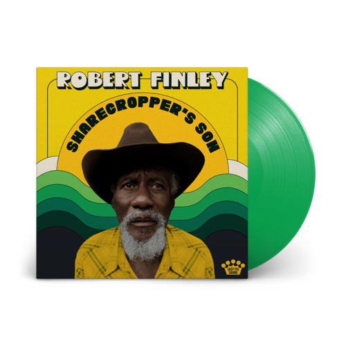 Robert Finley: Sharecropper's Son: Fern Green Vinyl LP + Art Print [signed by Dan Auerbach + Robert Finley]