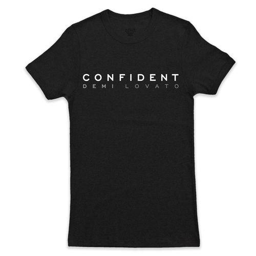 Demi Lovato,: Confident Tee X-Small