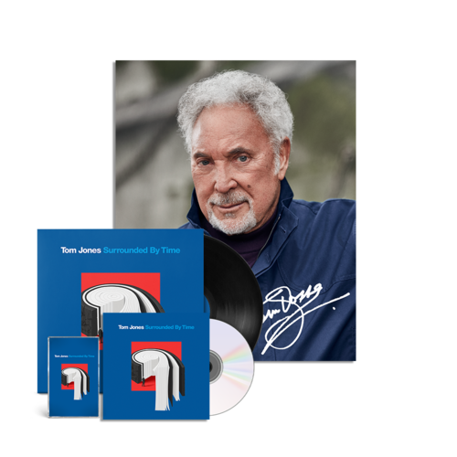 Tom Jones: Surrounded by time CD, LP, Cassette & Signed Photo Print