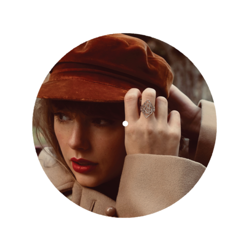 Taylor Swift: Red Taylor's Version Slipmat Cover