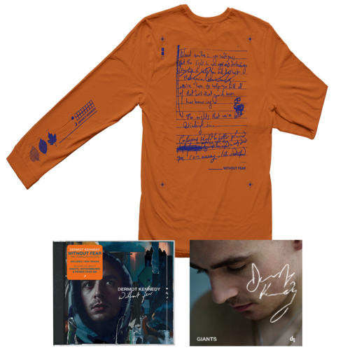 Dermot Kennedy: WITHOUT FEAR COMPLETE EDITION: CD, LONGSLEEVE + SIGNED INSERT