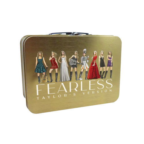 Taylor Swift: Fearless (Taylor's Version) Eras Collection Lunch Box
