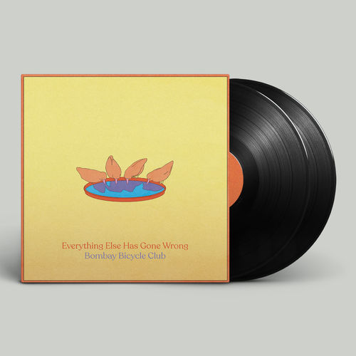 Bombay Bicycle Club: Everything Else Has Gone Wrong: Signed Deluxe Half-Speed Vinyl