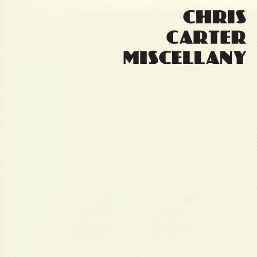 Chris Carter: Miscellany: Coloured Vinyl Box Set