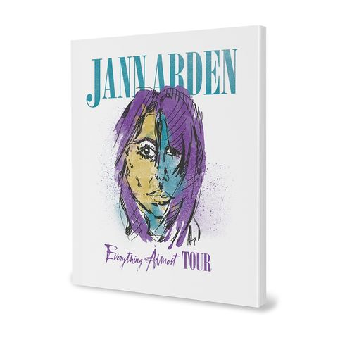 Jann Arden: Everything Almost Tour Book