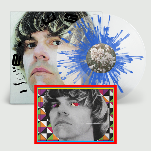 Tim Burgess: I Love The New Sky: Limited Transparent Splatter Vinyl + Signed Card