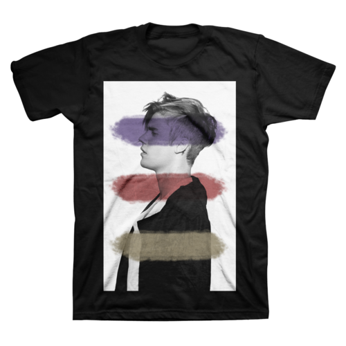Justin Bieber: JB Abstract Tee - Small