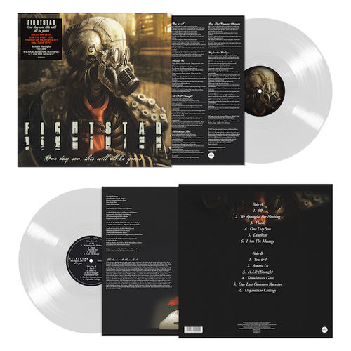 Fightstar: One Day Son, This Will All Be Yours: Limited Edition Clear Vinyl