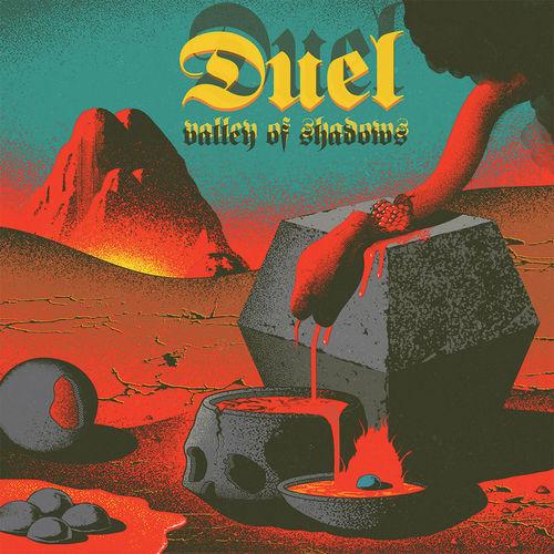 Duel: Valley Of Shadows: Transparent Red, Black, Blue, White, Yellow Splatter Vinyl