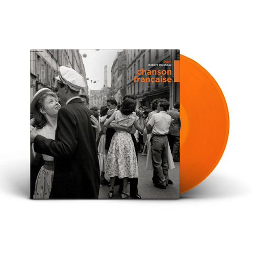 Various Artists: Chanson Française: Limited Edition Orange Vinyl