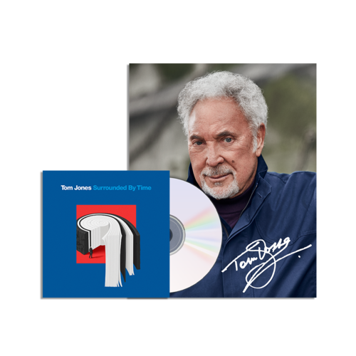 Tom Jones: Surrounded by Time CD and Signed Photo Print