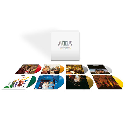 Abba: The Studio Albums: Limited Edition Coloured Vinyl Box Set