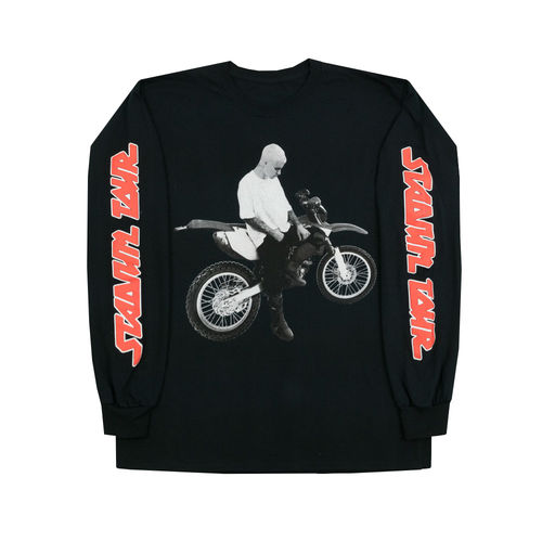 Justin Bieber: Dirt Bike Long Sleeve T-Shirt