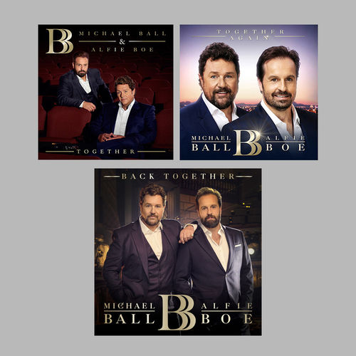 Michael Ball & Alfie Boe: Together Trilogy Bundle
