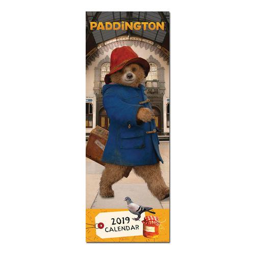 Paddington Bear: Paddington 2019 slim Calendar