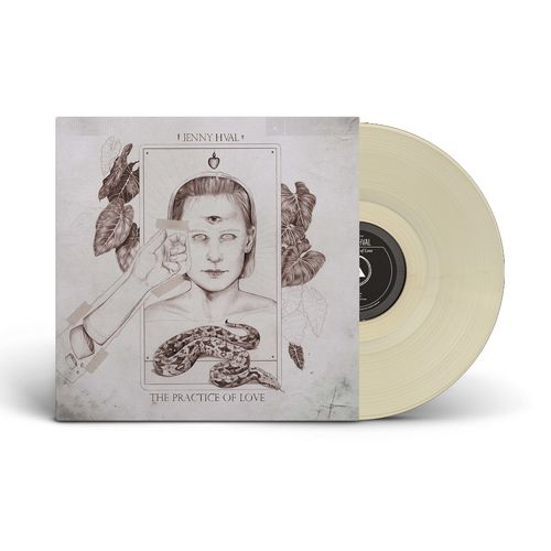 Jenny Hval: The Practise of Love: Limited Edition Sand Coloured Vinyl With Exclusive Signed Art Card