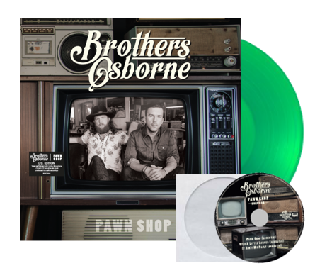 Brothers Osborne: Pawn Shop – UK Edition (Vinyl + CD)