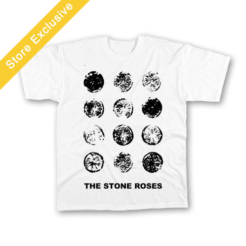 The Stone Roses: Lemon Grid T-Shirt