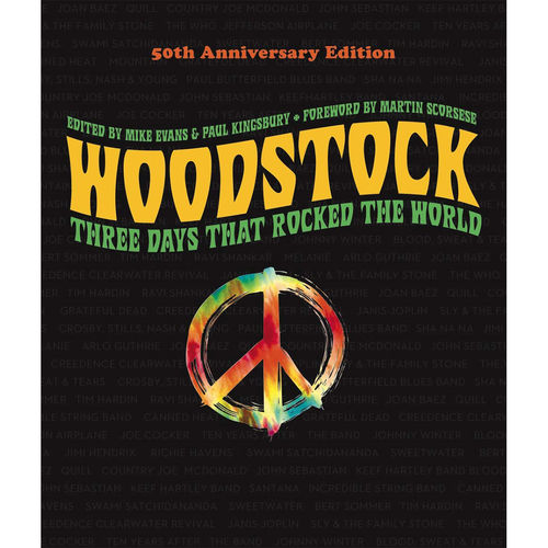 Mike Evans: Three Days That Rocked The World: Signed 50th Anniversary Edition Book