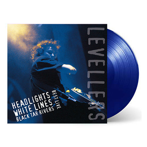 Levellers: Headlights, White Lines, Black Tar Rivers: Midnight Blue Coloured Double Vinyl