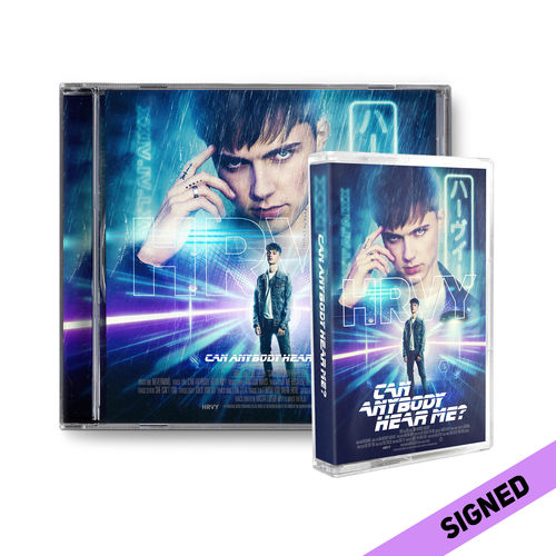 HRVY: Can Anybody Hear Me? Signed Standard CD & Cassette