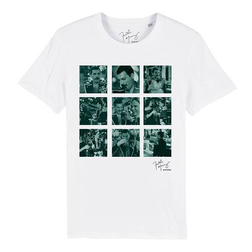 Freddie Mercury: Freddie Never Boring Squares T-Shirt