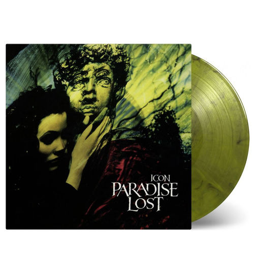 Paradise Lost: Icon: Limited Edition Yellow and Black Marbled Vinyl