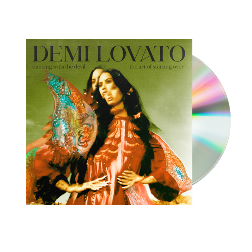 Demi Lovato,,: Dancing With The Devil... The Art of Starting Over Standard CD (Explicit)