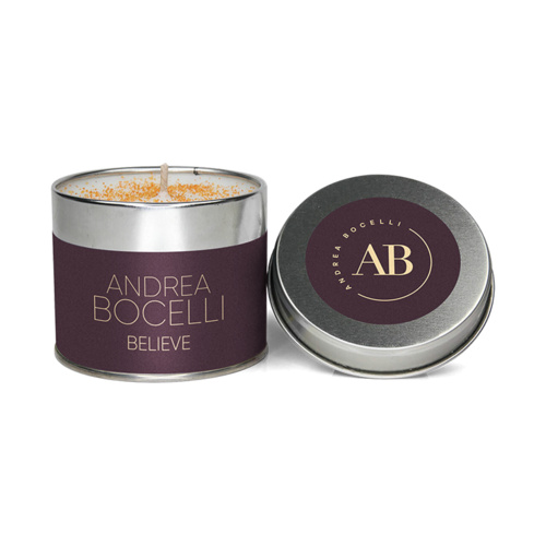 Andrea Bocelli: Believe Scented Candle