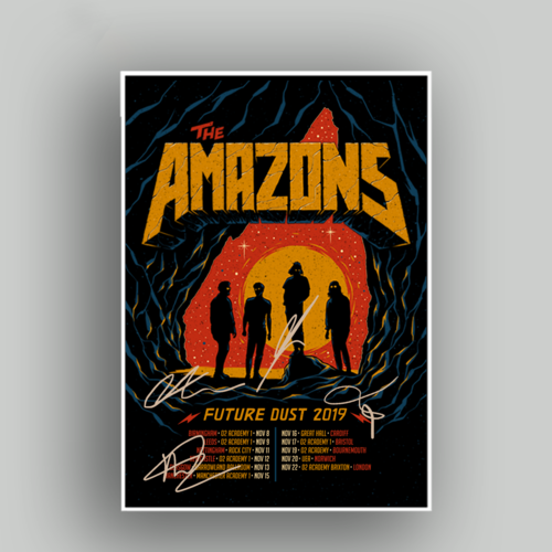 The Amazons: Amazons Tour Poster