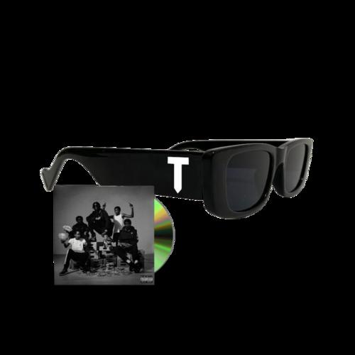 Unknown T: Unknown T x P+F Sunglasses + Signed Adolescence CD Bundle