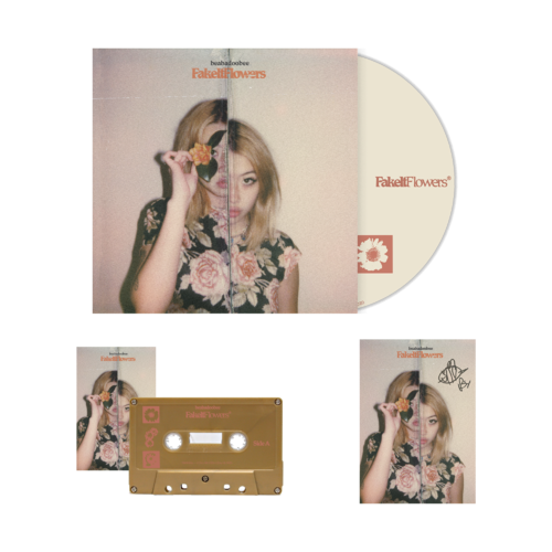 Beabadoobee: Fake It Flowers Gold CD Bundle (Signed)
