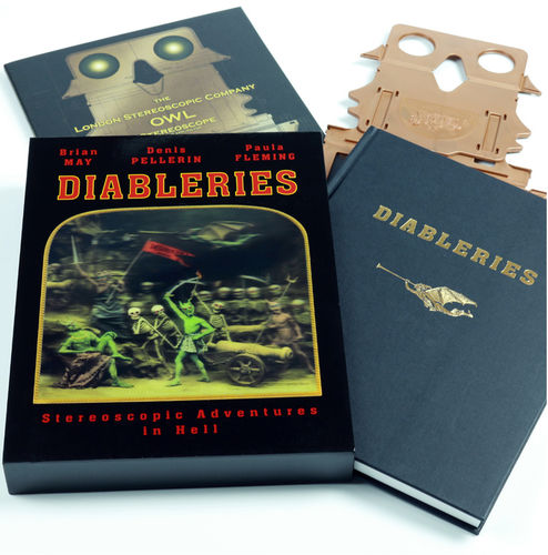 Brian May: Diableries - Stereoscopic Adventures in Hell (Hardback)