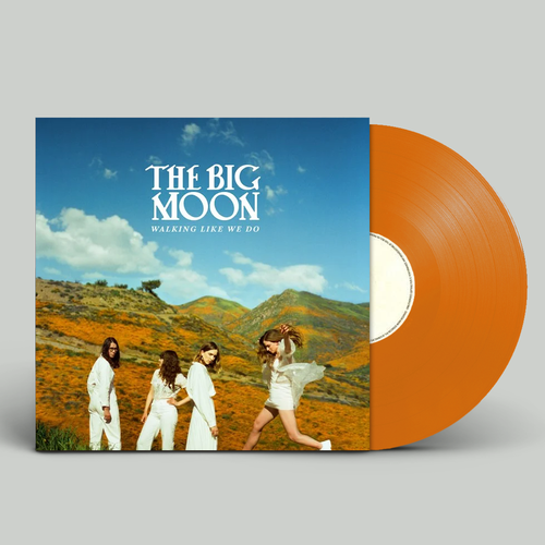 The Big Moon: Walking Like We Do: Signed Limited Edition Orange Vinyl
