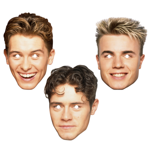 takethat: Take That Retro Mask Set
