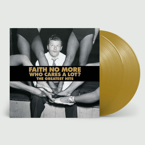 Faith No More: Who Cares A Lot? The Greatest Hits: Limited Edition Gold Vinyl