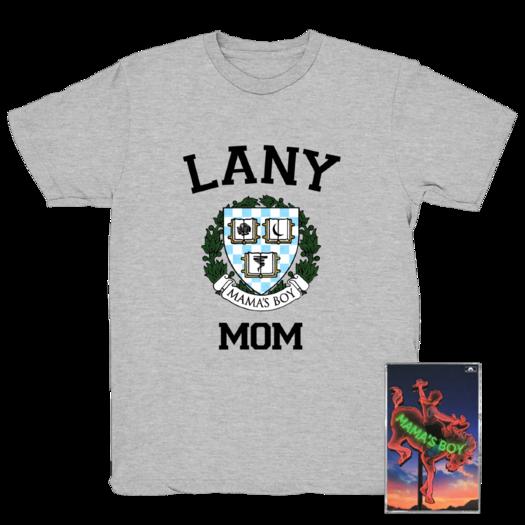 LANY: Grey Mom Tee +