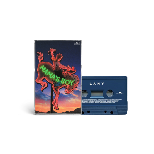 """LANY: """"mama's boy"""" collectible cassette 1/4: lany"""
