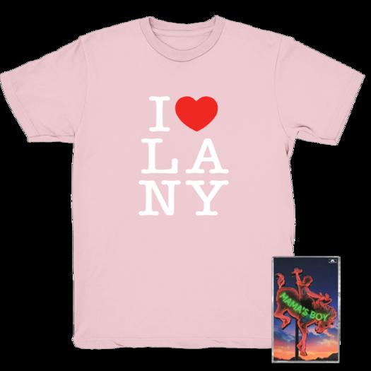 LANY: Pink Heart Tee +