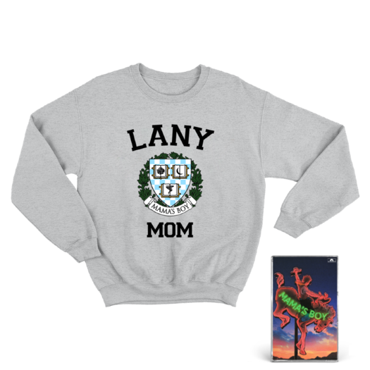 LANY: Grey Mom Crewneck +
