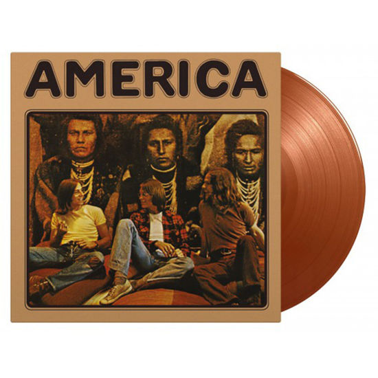 America: America: Limited Edition Flaming Gold Vinyl