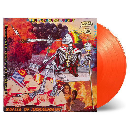 Lee Scratch Perry & The Upsetters: Battle Of Armagideon: Orange Vinyl